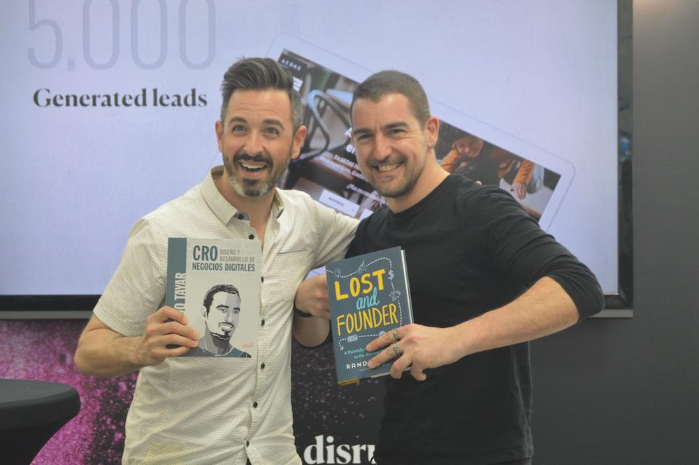 Ricardo Tayar y Rand Fishkin en The Inbounder 2018