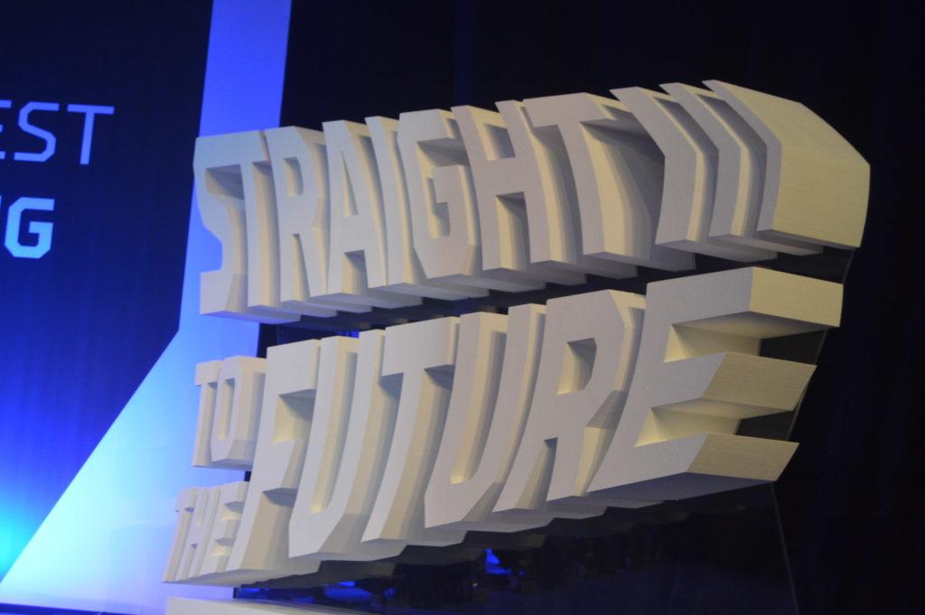 Imagen de la frase en The Inbounder 2018, Straight to the future