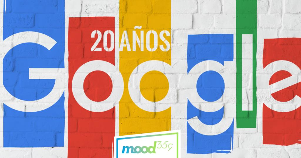 Google cumple 20 años como principal buscador