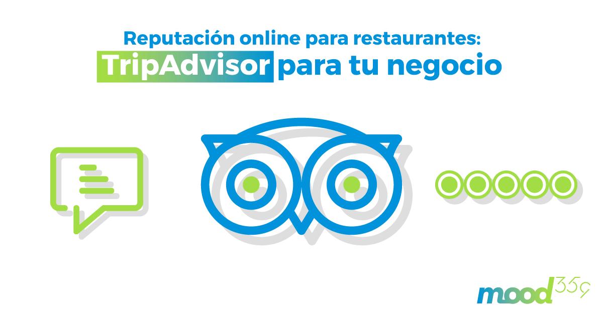 Imagen de post con el título Reputación online para restaurantes, TripAdvisor para tu negocio
