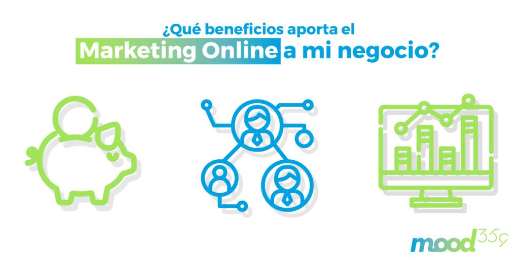 Beneficios del marketing online para empresas