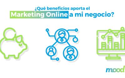 ¿Qué beneficios aporta el marketing online a mi negocio?