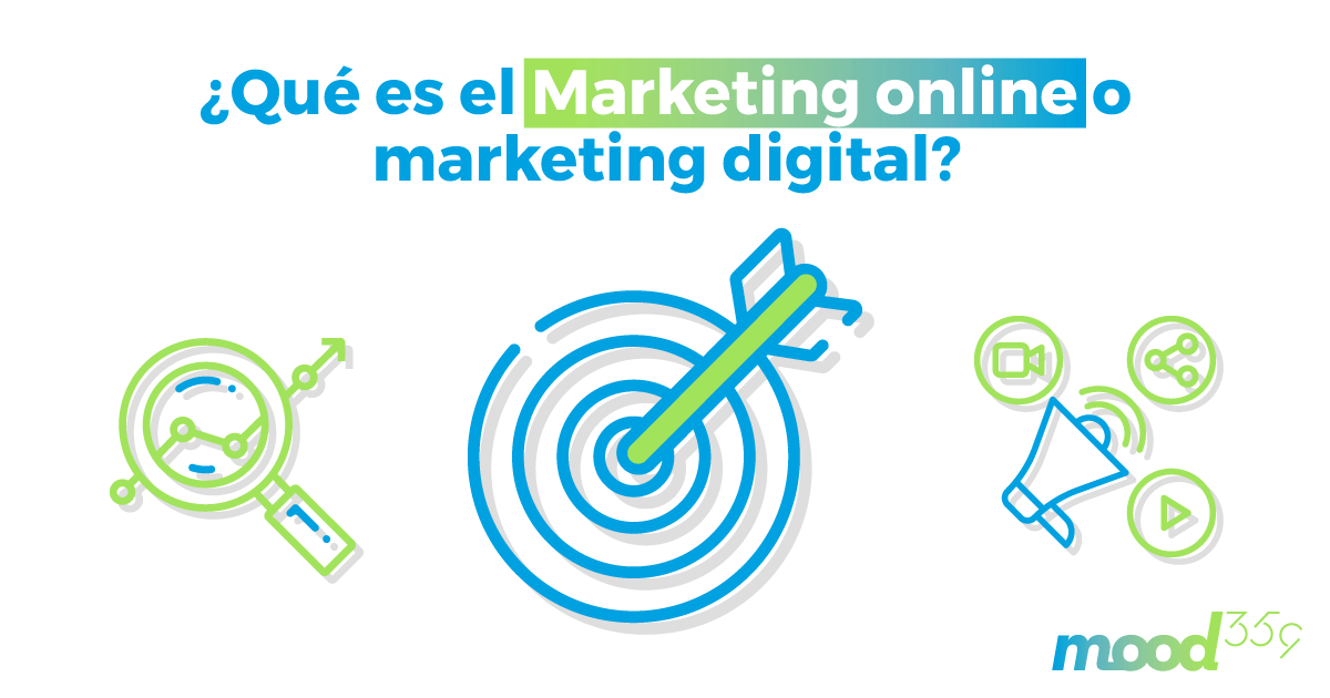 ¿Qué es el marketing online o marketing digital?