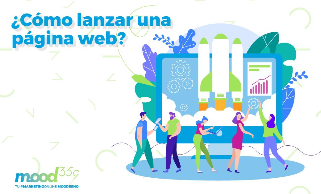 ¿Cómo lanzar una página web?