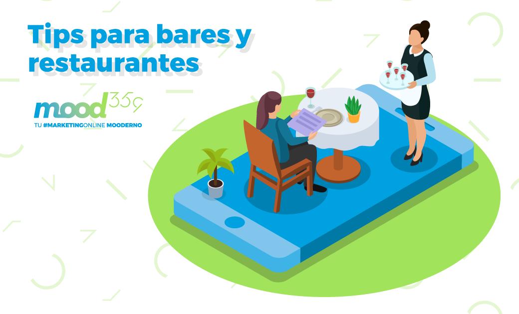 Tips de marketing online para bares y restaurantes