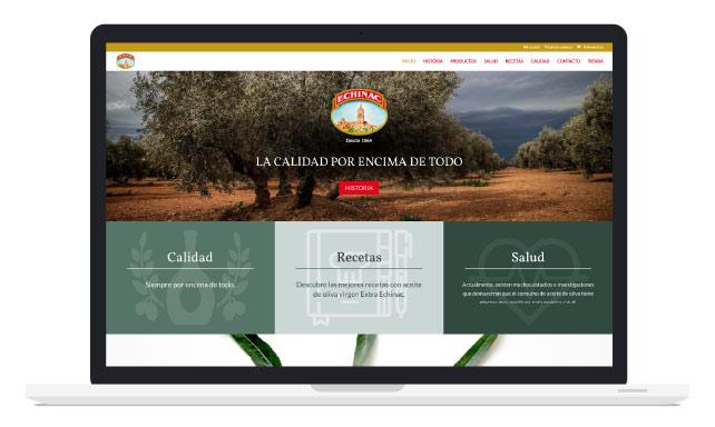 Diseño de Tienda Online para Aceites Echinac