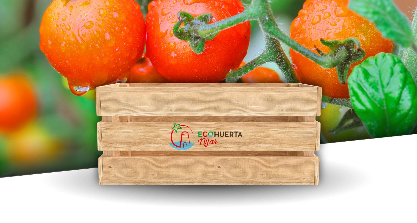 Diseño gráfico para EcoHuerta Níjar