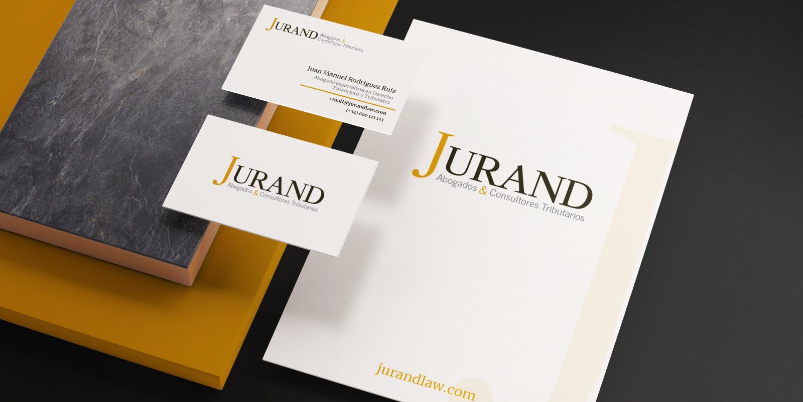 Re-branding realizado a Jurand Abogados
