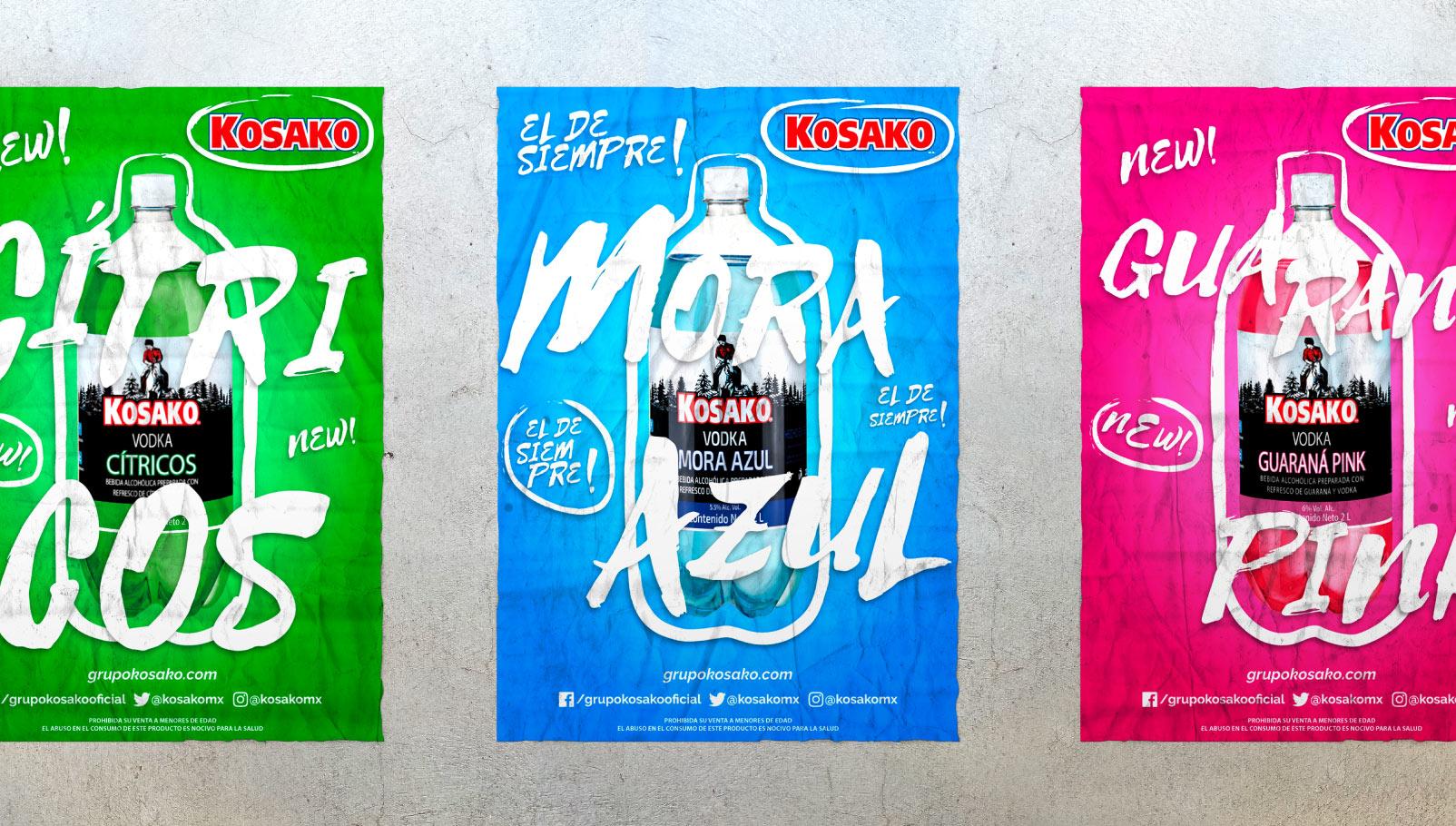 Diseño de cartelería para Grupo Kosako