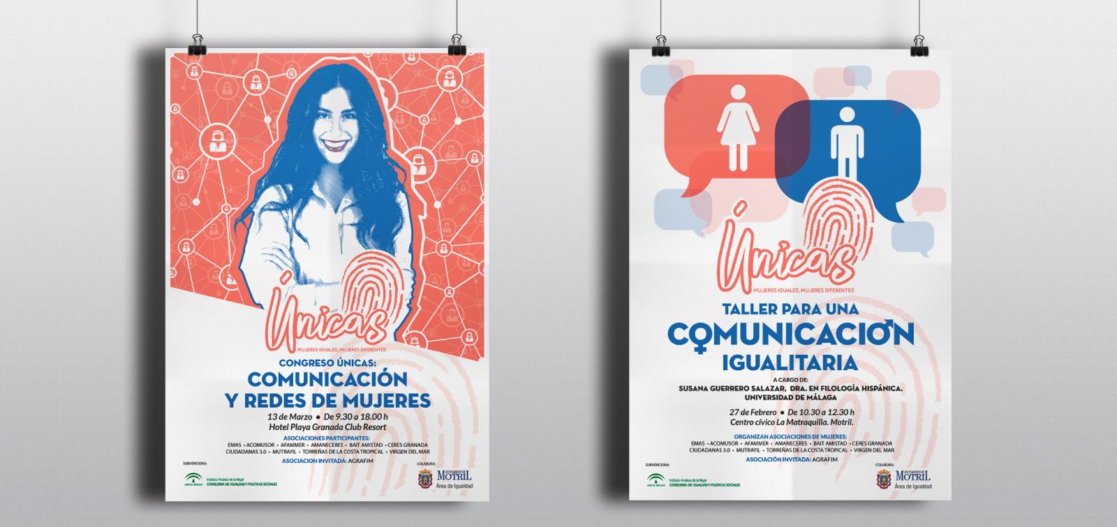 Diseño gráfico de cartelería para el Ayuntamiento de Motril