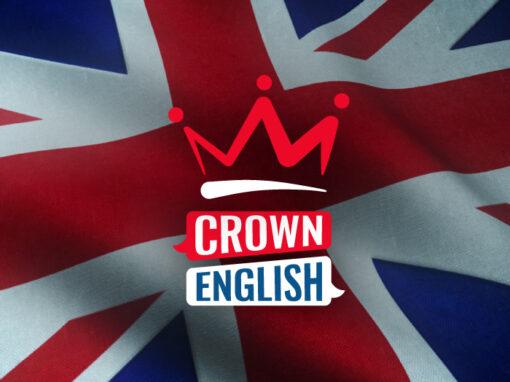 Crown English, creación de marca y desarrollo web