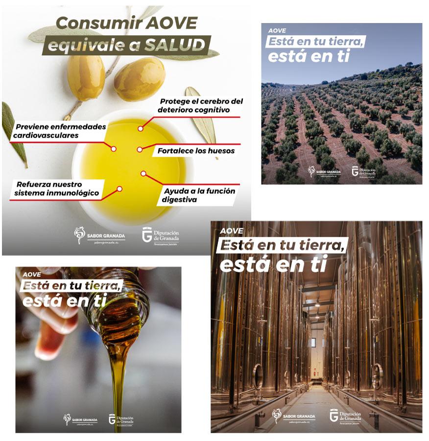 Campaña de marketing para Sabor Granada